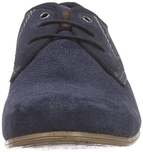 s.Oliver 13207, Derby homme Bleu - Bleu (NAVY 805)
