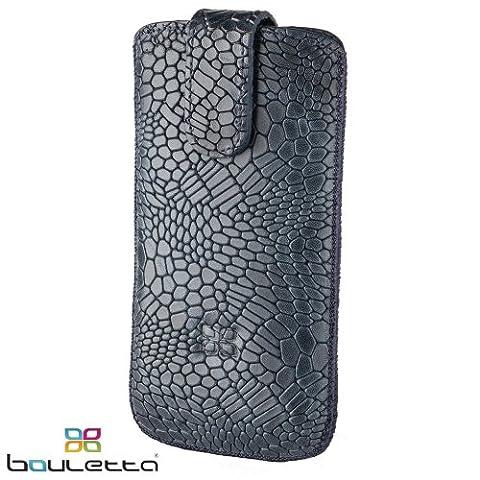 Bouletta® Samsung Galaxy S4 IV Hülle Leder Case Tasche Ledertasche