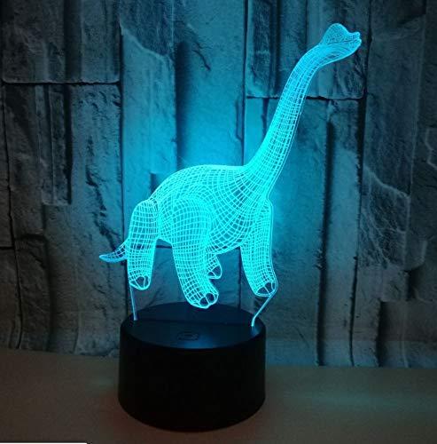3D Lampe Nachtlicht Stimmungslicht Marienkäfer 7 Farben Niedliche Cartoon-Form Touch Switch Acryl Flat & Abs Base Deko Besten Für Kinder Spielzeug Geschenk Haus Dekoration