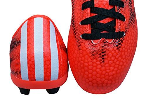 Adidas F5 FxG J Jungen Fußballschuhe solar red/ftwr white/core black