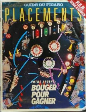 GUIDE DU FIGARO PLACEMENTS [No 13498] du 22/01/198...