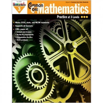 Newmark Learning Common Core Mathematics Reproducible Book, Grade 3 by Newmark Learning
