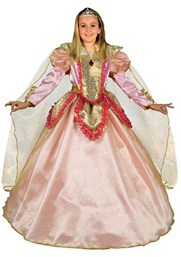 Fiori paolo 26297 - principessa rosa costume carnevale atelier (5-7 anni)