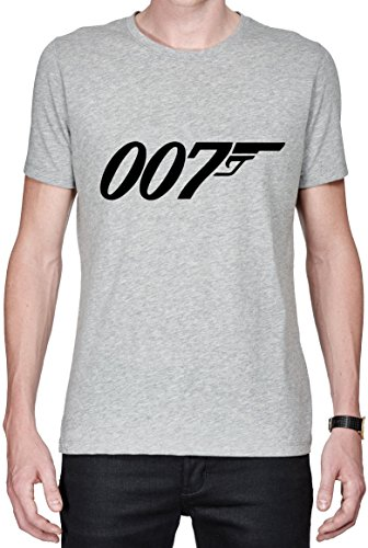 James Bond 007 Logo Gun Black maglietta da uomo X-Large