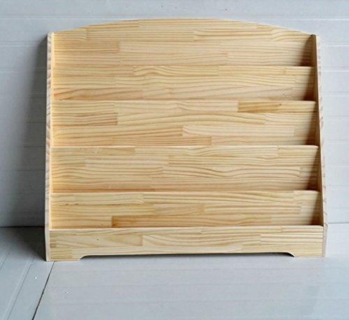 Librería Estantería 60 * 82 * 30 Cm 80 * 82 * 30 Cm Soporte de exhibición de madera sólida de 100 * 82 * 30 Cm ( Tamaño : 60*82*30 cm )