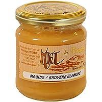 Le Rucher de l'Ours - Miel de Bruyère Blanche - Pot de 250g, Crémeux