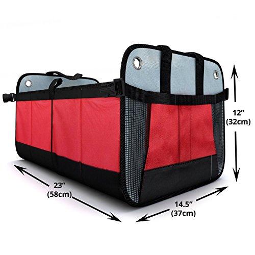 Zoom IMG-3 grande contenitore portaoggetti auto multitasche