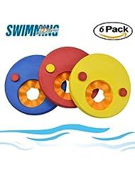 Schwimmen Festplatten, Flyfish Kinder float Scheiben Schwimmen Arm Band Set (6pcs/set)