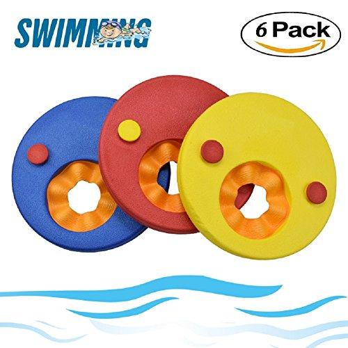 Schwimmscheiben für Kinder, 6-teiliges Set