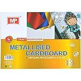 MP PN216 - Pack de 4 cartulinas metalizadas