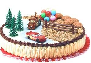 Cars kuchendeko tortendeko spielzeug for Cars kuchendeko