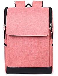 YANX Bolso del cuaderno de los hombres de manera de Bolso de computadora mochila del paño de Oxford (44 * 29 * 16cm) , pink