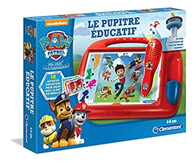 Clementoni - A1504248 - Paw Patrol - Pupitre Educatif