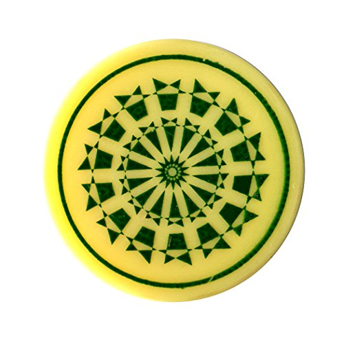 Indiavibes Carrom Board Striker Plastic Color With Design (Green)  available at amazon for Rs.199