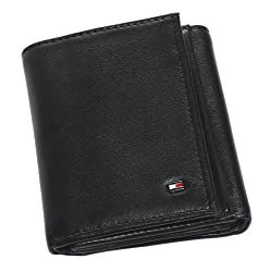 TOMMY HILFIGER WALLET BLACK (Black)