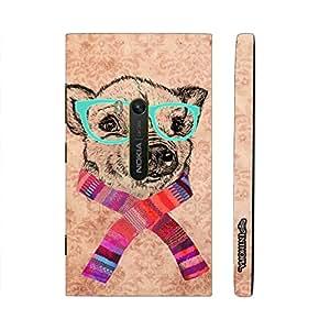Nokia Lumia 920 Geeky Dog designer mobile hard shell case by Enthopia
