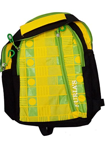 PLAY WORLD ONLINE Collage And Laptop Bag Outer Material Synthetic Color Yellow