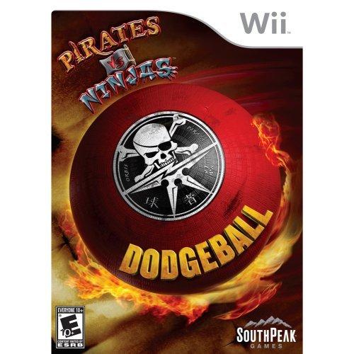Pirates Vs. Ninjas Dodgeball - Nintendo Wii -