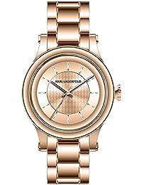 Karl Lagerfeld Unisex-Armbanduhr Analog Quarz Edelstahl KL1223