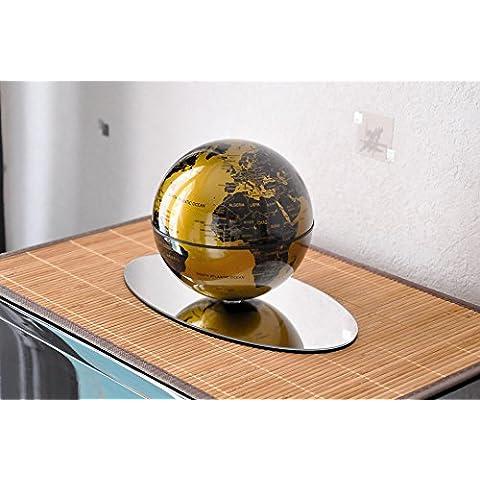 Globe Auto giratorio tierra Deluxe con soporte espejo
