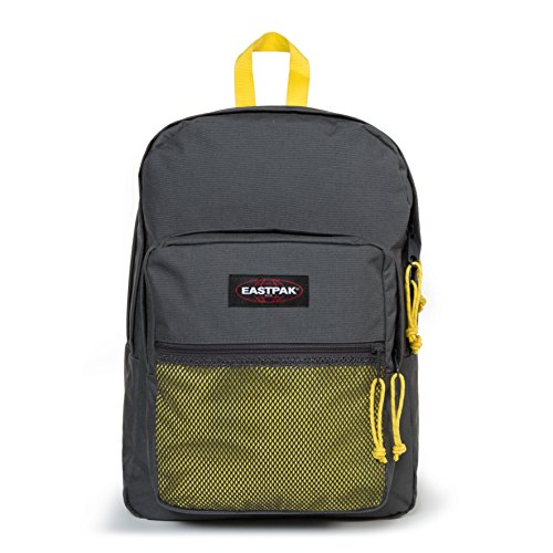 Eastpak Pinnacle Sac à dos, 42 cm, 38 L, Gris (Grey-Yellow)