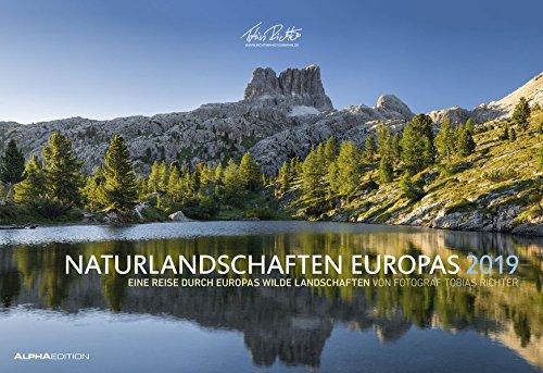 Naturlandschaften Europas 2019 - Bildkalender quer (50 x 34) - Landschaftskalender