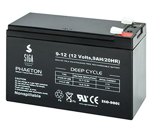 SIGA S9-12 Batterie 12 V/9 mAh
