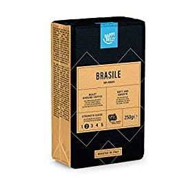 "Amazon Brand – Happy Belly Ground Coffee ""BRASILE"" (4 x 250g)"