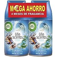 Air Wick Freshmatic Max Recambio Ambientador Oasis Turquesa - Paquete de 2 x 25 cl - Total: 0,5 l