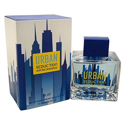 Antonio Banderas Urban seduzione Eau de Toilette Spray, 100 ml, colore: blu