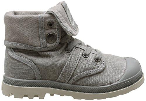 Palladium Baggy, Boots mixte enfant Gris (Grey/Taupe)