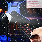 EAMBRITE 10 Color combination LED Snowfall Projector Light with Remote Decorated in Garden Yard and Home, Gift Box of Snowflake Flurries Spotlight for Holiday Christmas Wedding Party