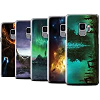 Offiziell Chris Cold Hülle / Case für Samsung Galaxy S9/G960 / Pack 12pcs Muster / Fremden Welt Kosmos Kollektion