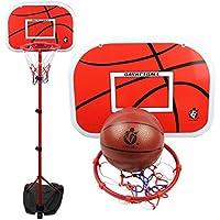 Lommer - Aro de baloncesto para niños y adolescentes (105 – 200 cm)