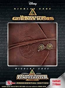 Das Vermächtnis des geheimen Buches - Presidential Edition  (5 DVDs - incl. Das Vermächtnis der Tempelritter)