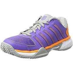 K-Swiss Performance Express Ltr Hb, Zapatillas de Tenis Mujer, Morado (Purple/Orange), 39 EU