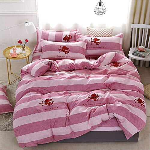 YUNSW FashionPrinted Bettbezug withCotton Soft Stoff Tröster Bettbezug Twin Full Queen King Size J 220x240cm / 87x94in