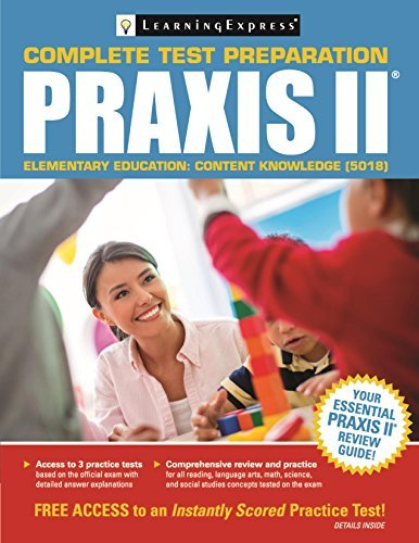Praxis II: Elementary Education Content Knowledge (5018) by Learning Express Editors (2016-05-07)