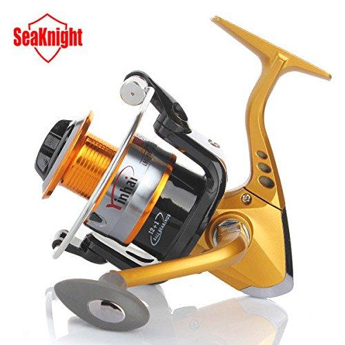 Bazaar Seaknight 12+1bb tournant pêchant la bobine pêchent la roue le rapport de vitesse d'eau douce/d'eau de mer 5.5 : 1