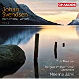 Svendsen: Orchestral Works Vol. 2 (Cello Concerto/ Symphony No.2) (Bergen Philharmonic Orchestra; Neeme Järvi) (Chandos: CHAN 10711)