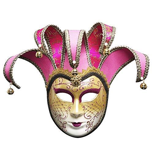Wokee Maskerade Maske Weihnachten Venezianische Joker Theatermaske Karneval-Party-Ballmaske,Metall Prinzessin Sexy Augenmaske ()