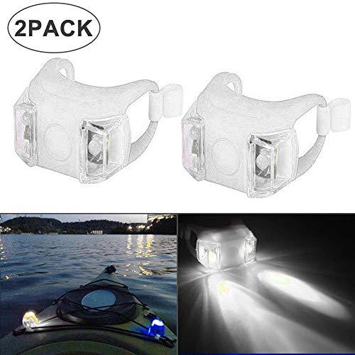 Vuffuw Boot Navigation Light, LED Navigationslichter Kit Für Boot, wasserdichte Bug- Oder Heck-Sicherheitsbeleuchtung Für Boote - LED-Beleuchtungs-Navigationslicht-Kit Für Not- Und Nachtsegeln