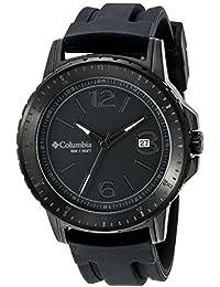 Columbia hombre CA025–001Ridgeback analógico pantalla Cuarzo Negro Reloj por Columbia