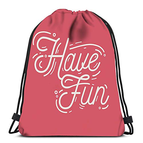 Billig Angel Wings - Randell Gym Drawstring Backpack Sport Bag
