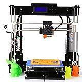 GUCOCO Update Desktop A8 3D Printer, DIY 3D Printer Kits High Accuracy Self-Assembly