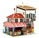 WFTD 3D-Holz Puzzle-DIY Miniatur-Architekturmodell Zu Hause Kreativen Schmuck Holzspielzeug Handwerk, Thanksgiving Weihnachts-Geburtstagsgeschenk (Türkischer Stil)
