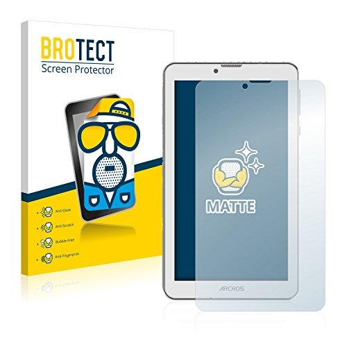 BROTECT Schutzfolie Matt kompatibel mit Archos 70 Xenon Color [2er Pack] - Anti-Reflex