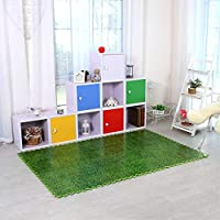 NO BRAND KDYSMWD Creative Grass Like Puzzle Carpetsfoam Carpet Jigsaw Mat Soft Area Rug Children Baby Play Mats Playmat