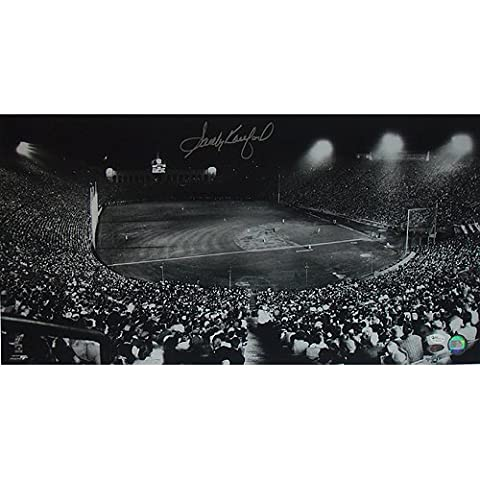 Steiner Sports MLB Los Angeles Dodgers Sandy Koufax Dodgers Night Game at Los Angeles Coliseum 12x23 Photograph