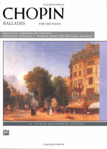 Chopin -- Ballades (Alfred Masterwork Edition) (1985-11-01)